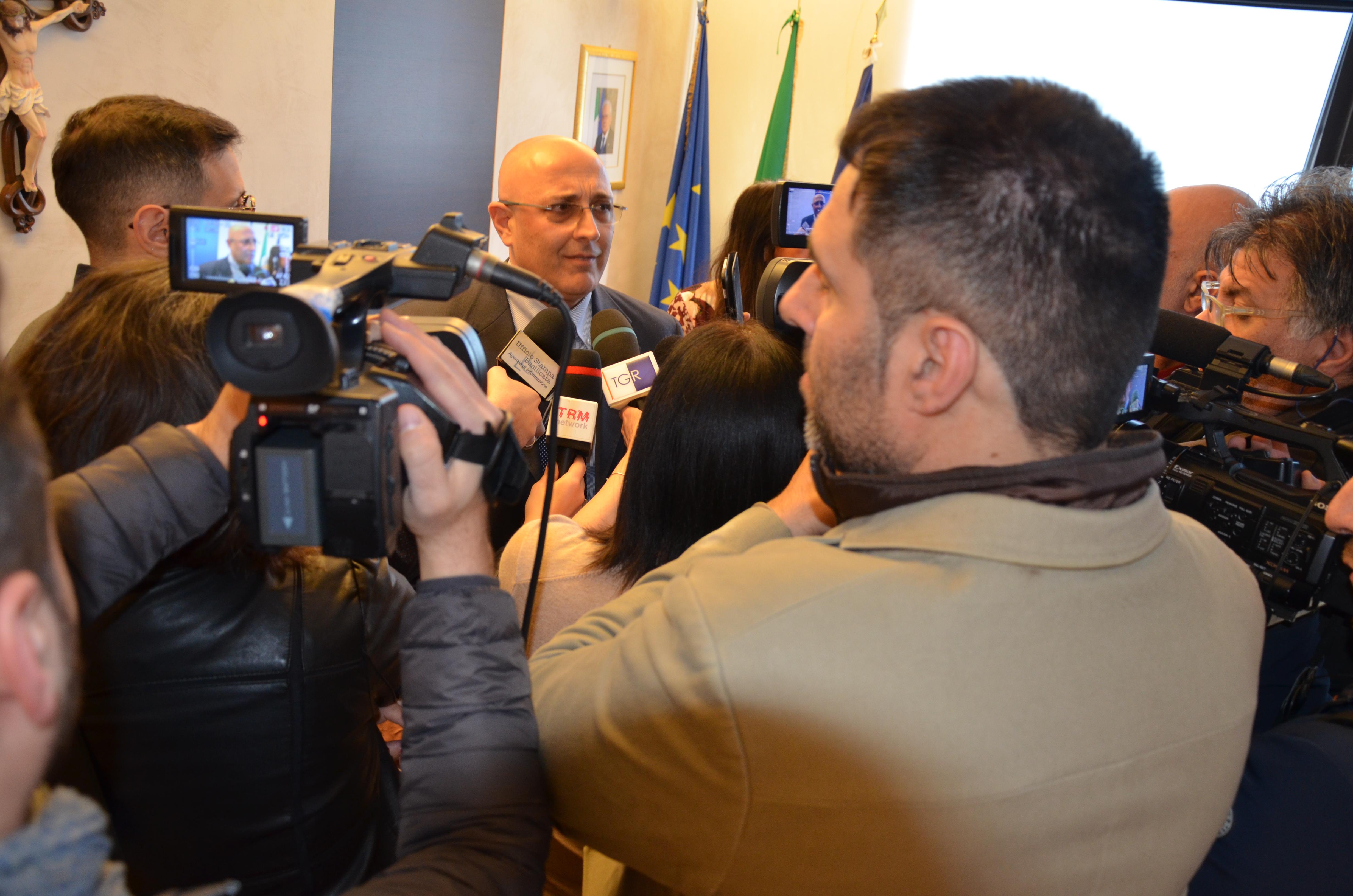 Conferenza stampa 100 giorni DG Barresi